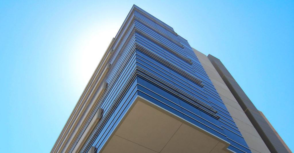 WIMR building from below