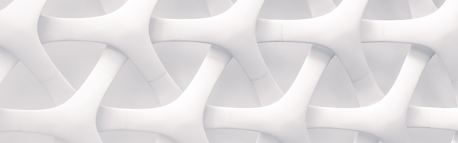 Interlocking shapes create an optical illusion