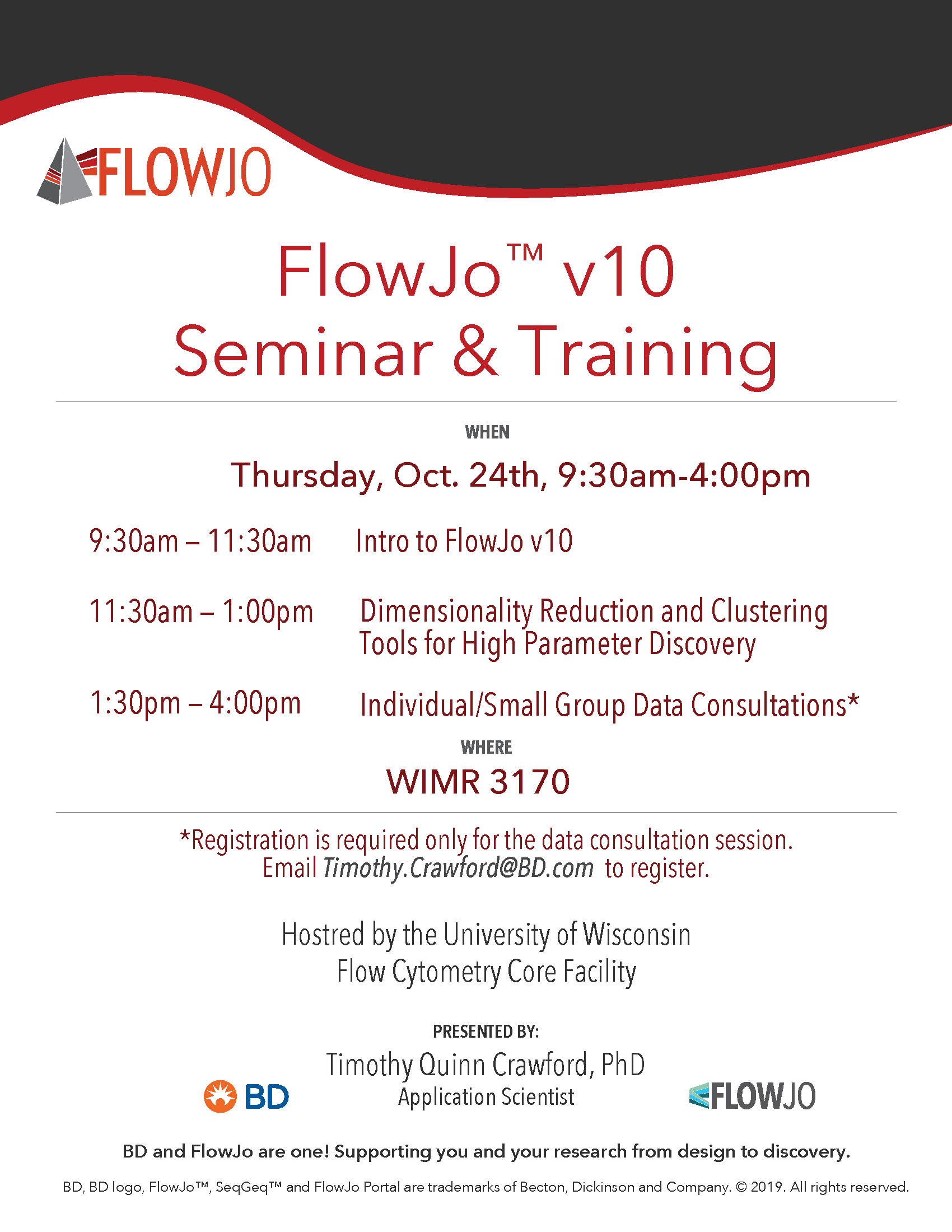 FlowJo Training Day 24Oct2019