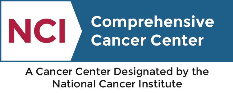 NCI Designated Comprehensive Cancer Center badge